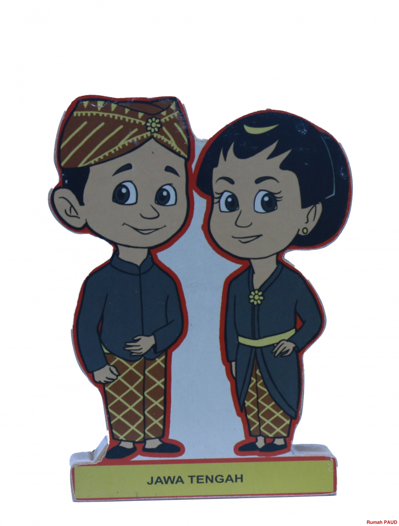 Detil Produk Asesoris Pakaian Adat Jawa Tengah