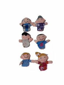 Boneka Jari Family 6pcs